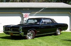 A convertible could be cool...I love Pontiac GTOs '66 & '67
