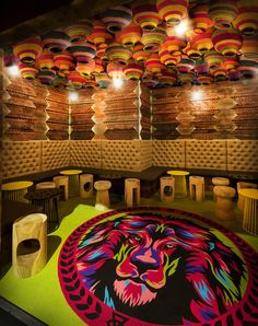Glamp adds another level of African adventure to an exotic bar in Melbourne...