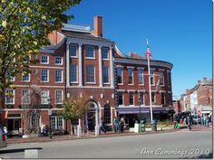 Downtown Market Square - love the old world charm of our beautiful brick buildings!