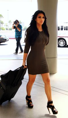 sweater dress kim kardashian