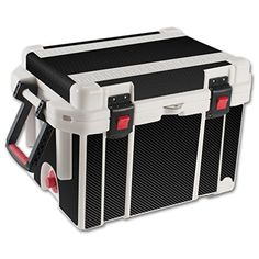 MightySkins Protective Vinyl Skin Decal for Pelican 35 qt Cooler wrap cover sticker skins Carbon Fiber -- See this great product.(This is an Amazon affiliate link and I receive a commission for the sales)