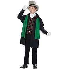 This Christmas sing out your favorite songs around the block in a caroler costume. Find the best Christmas caroler costumes.
