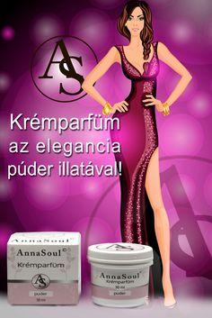 Érzékeny a bőröd? Vagy egyszerűen csak kímélni szeretnéd, úgy, hogy közben a hozzád illő illat lengjen körül? Legújabb termékeink az AnnaSoul Krémparfümök! Alkohol mentes termékek, természetes összetevőkkel! 3 féle illatban! Elegant, Alcohol