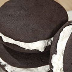 Chocolate Whoopie Pies | My Nana's Pennsylvania Dutch recipe follows in the comments. -G.H.