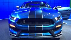 Ford 350GTR Shelby Mustang at the 2015 NY International Auto Show