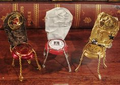 champagne chairs made by natalie -made on special occasions for friends