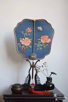 Silk Tuanshan(round fan)