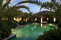 Bahia Beach Resort  Golf Club. The pool house at Bahia Beach Resort. Designed by SB Architects