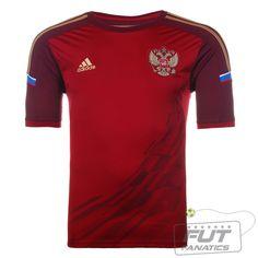 Camisa Adidas Rússia Home 2014 - Fut Fanatics - Compre Camisas de Futebol Originais Dos Melhores Times do Brasil e Europa - Futfanatics