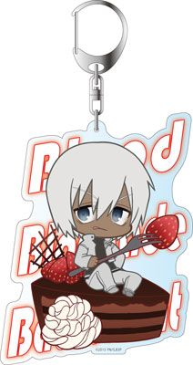 AmiAmi [Character & Hobby Shop] | Blood Blockade Battlefront - Deka Keychain: PuniChara Zapp Renfro Sweets ver.(Pre-order)