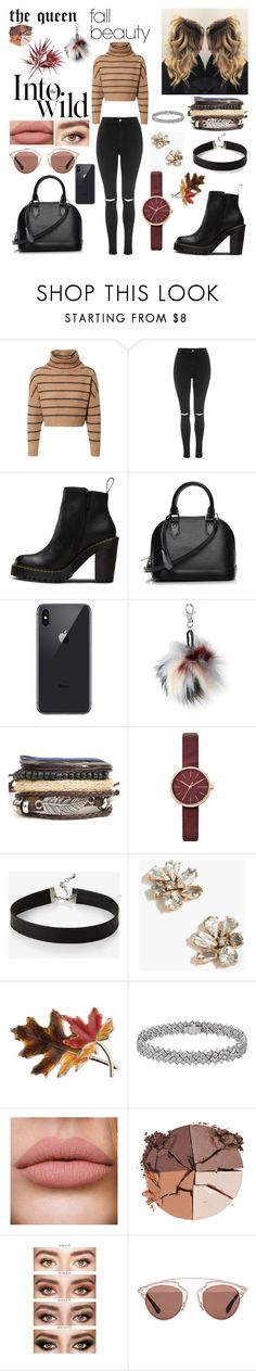 """fall beauty style"" by blerina4 on Polyvore featuring Brunello Cucinelli, Topshop, Magdalena, Louis Vuitton, Aéropostale, Skagen, Express, J.Crew, Anne Klein and lilah b."