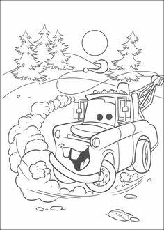 Desenhos para colorir Carros 55