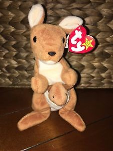 9a4c02b0bd3 TY VERY RARE Pouch Beanie Baby With BONGO Tush Tag   BONGO without Hang Tag