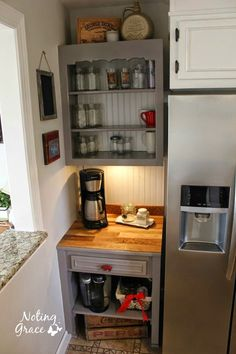 Farmhouse Kitchen Remodel   The Coffee Bar