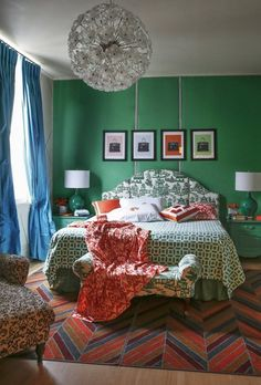 Ideas for Bedrooms So Bold You Won't Need Caffeine to Wake Up