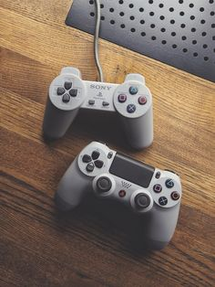 Old vs New! What's your choice? Photo by @alper_ergin #playstation #gaming #console #controller
