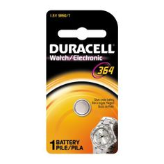 Duracell D364BPK Watch / Electronic Battery, 1.5 Volt Silver Oxide by Duracell. $2.91. Duracell offers a wide range of powerful watch/electronics batteries to meet your needs. These batteries offer long lasting power in everything from watches to handheld games and calculators.