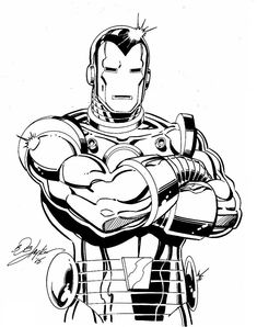 The Marvel Comics of the — Iron Man by Bob Layton Marvel Art, Marvel Dc Comics, Marvel Heroes, Captain Marvel, Comic Book Characters, Comic Character, Comic Books Art, Marvel Universe, Iron Man Drawing