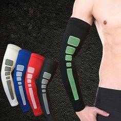 86aa1cbc0f 1 Pc Arm Guard Basketball Sports Fitness Riding Running Elbow Arm Sleeve  Pad Brace -in Elbow & Knee Pads from Sports & Entertainment on  Aliexpress.com ...