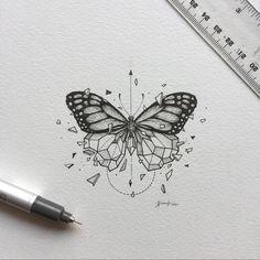 Geometric Beast | Butterfly