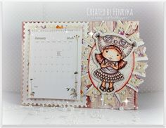 Magic Craft Land by Henryka Magic Crafts, Owl Hat, Something New, Copic Markers, Design Crafts, Postage Stamps, Color Inspiration, Banner, Colouring