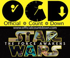 Force Awakens Blu-Ray DVD Countdown Clock. How many days left until Star Wars Force Awakens comes out on Blu-ray & DVD? - Counting down the days left to until you can own the DVD & Blu-ray of Force Awakens the with a free online Countdown Clock. Watch videos, get news, & stay updated here. http://www.officialcountdown.com/force-awakens-bluray/index.html