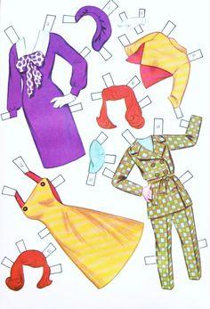 Dress-Up Dolls Paper Dolls - Part 4