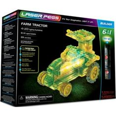 Laser pegs Tractor Laser Pegs: 6 in 1