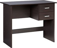 OneSpace Adina Traditional Espresso Writing Desk at Lowe's. This OneSpace modern writing desk with 2 side drawers combines a compact, contemporary-styled desk with added storage space. The easy-to-assemble desk Desk Storage, Built In Storage, Storage Spaces, Teen Desk, Kid Desk, Work Desk, Home Office Desks, Home Office Furniture, Office Table