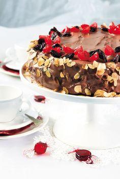 Suklaa-kirsikkakakku | K-ruoka #joulu