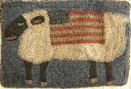 Patriotic sheep