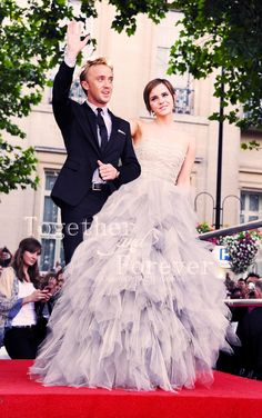 Dramione💟 - Wedding Chapter Two Draco Harry Potter, Estilo Harry Potter, Harry Potter Hermione, Harry Potter Universal, Harry Potter Ships, Harry Potter Characters, Ron Weasley, Dramione, Drarry