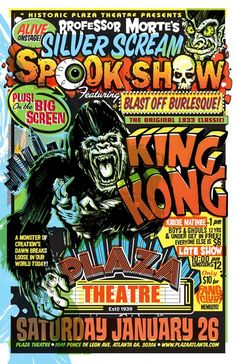 Spook show poster