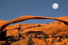 Landscape Arch, Arches National Park Fotografia di Prisma Bildagentur AG, Alamy
