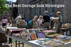 How to Have a Successful Garage Sale    These key tips can mean the difference between a successful garage sale, and a garage full of junk.  #garagesale #sale