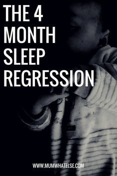 The 4 month sleep regression marks a permanent step for some babies: it means they start to have distinct light and deep stage in their sleep.