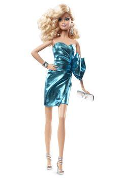 City Shine™ Barbie® Doll - Blue   Barbie Collector