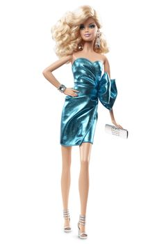 City Shine™ Barbie® Doll - Blue | Barbie Collector