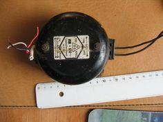 Alte antike Klingel mit VDE Kennzeichnung Metallausführung Gewicht 810 Gramm