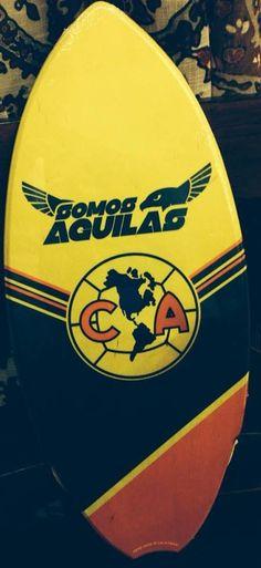 Aguilas del America mini surfboard!