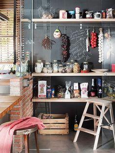 1001 wohnideen k che f r kleine r ume wie gestaltet man kleine k chen home pinterest. Black Bedroom Furniture Sets. Home Design Ideas