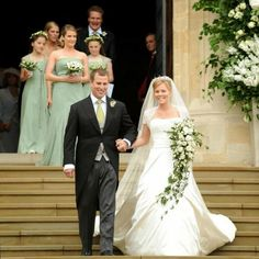 Wedding of Princess Anne's son Peter Phillips to Autumn Kelly