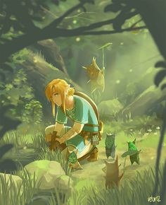 Breath of the Wild Art by vetur02