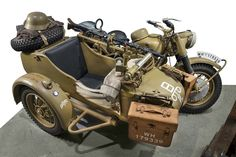 BMW's military motorcycles quickly evolved into beasts of wartime burden that were so sturdy and reliable. Ural Motorcycle, Womens Motorcycle Helmets, Motorcycle Girls, Honda Motorcycles, Vintage Motorcycles, Ducati Monster Custom, Sidecar, D Day, Armored Vehicles