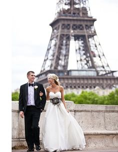 The Location Photo by One and Only Paris Photography via Wedding Chicks
