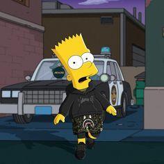 Bart Simpson New Horizons Guide Cartoon Wallpaper, Simpson Wallpaper Iphone, Cartoon Kunst, Cartoon Art, Cartoon Characters, Trill Cartoon, Hypebeast Iphone Wallpaper, Simpsons Art, Supreme Wallpaper