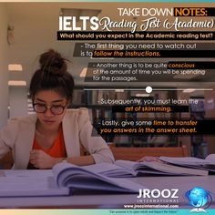 What should you expect in the Academic reading test? You should know that it will slightly be harder than the General Training version. #JRoozIntl #ieltsonlinecourse #ieltsonlinepreparation #ieltsonlinereview #ieltsonlinetraining #ieltsonlinecoaching