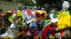 Eerbetoon aan Mandela