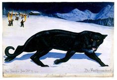 Walton Ford's Six New Paintings of a Panther's Journey to Freedom Walton Ford, Female Black Panther, Grandeur Nature, Dark Fairytale, King Kong, Wildlife Art, Fantasy Creatures, Panthers, Natural History