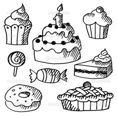 47 melhores imagens de grafit como desenhar bolos how to draw cake